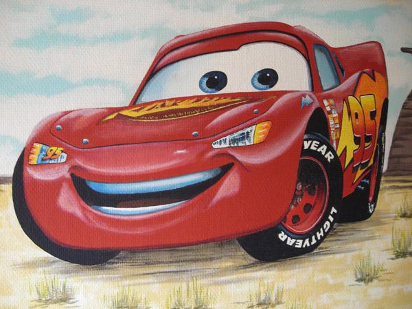 """Cars kamer """"Bliksem McQueen"""""""