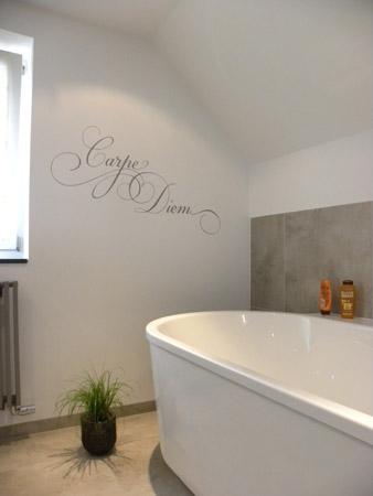 Badkamer muur decoratie home design idee n en meubilair inspiraties - Muurdecoratie badkamer ...