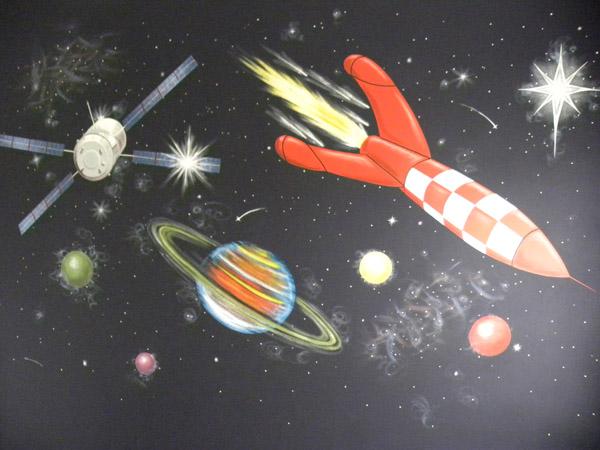 Decoreren heelal 1