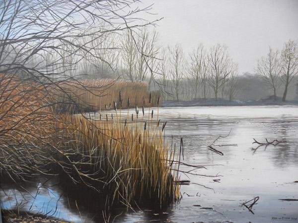 "Natuurgebied ""Perekker"" winter"